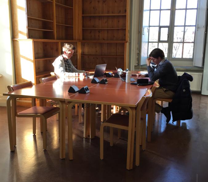 Studieplatser Tidskriftsläsesalen