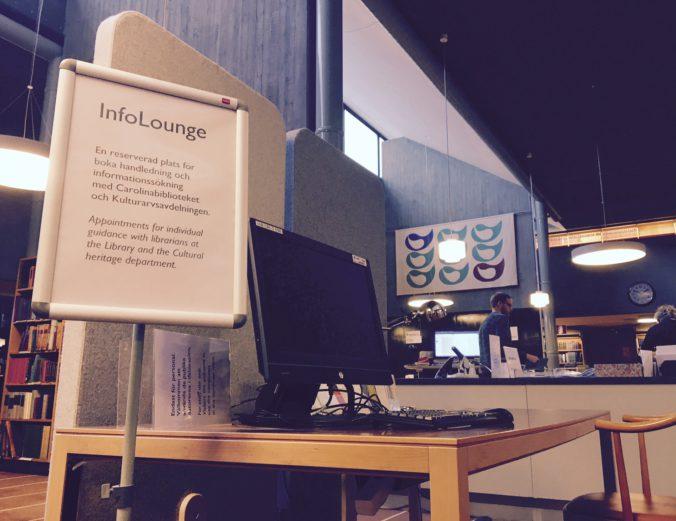 InfoLounge i C-salen