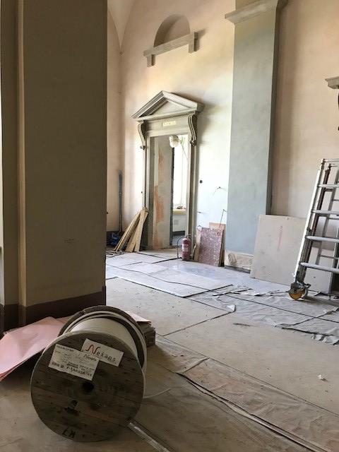 Den nya entréhallen