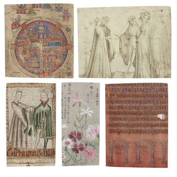 Föremål i utställningssalen. Items in the exhibition.